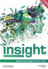 Insight Upper-Intermediate SB OXFORD