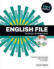 English File 3E Advanced SB + DVD w.2019