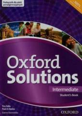 Oxford Solutions Intermediate SB OXFORD