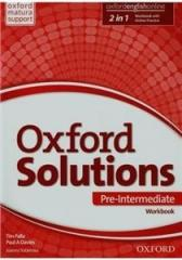 Oxford Solutions Pre-Intermediate WB+Online OXFORD