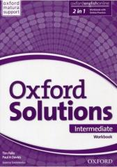 Oxford Solutions Intermediate WB+Online w.2019