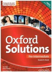 Oxford Solutions Pre-Intermediate SB OXFORD