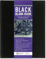 Niezapisana książka czarna - szkicownik