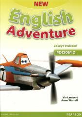 English Adventure New 2 WB + CD PEARSON