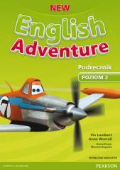 English Adventure New 2 SB + CD PEARSON wieloletni