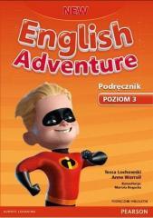 English Adventure New 3 SB + CD PEARSON wieloletni