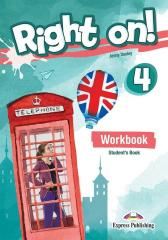 Right On! 4 WB + DigiBook EXPRESS PUBLISHING