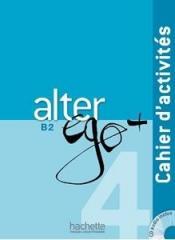 Alter Ego 4 ćwiczenia+CD HACHETTE