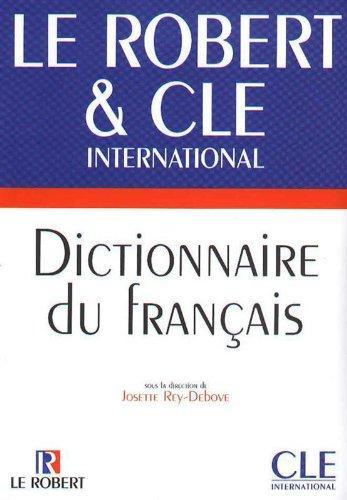 Dictionnaire du francais. Robert & Cle