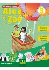 Alex et Zoe plus 3 podręcznik + CD MP3