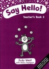 Say Hello. Teacher's Book 2 + CD