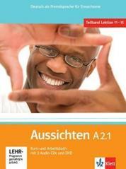 Aussichten A2.1 KB/AB + 2CD i DVD LEKTORKLETT