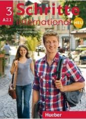 Schritte international Neu 3 KB+AB+CD PL HUEBER