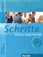 Schritte International 5 KB+AB+CD PL HUEBER
