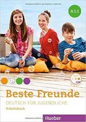 Beste Freunde A1.1 AB + CD w.niemiecka HUEBER