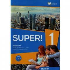 Super! 1 Podręcznik wieloletni A1 + CD HUEBER