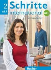 Schritte international Neu 2 KB+AB+CD PL HUEBER