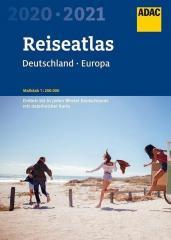 ReiseAtlas ADAC. Deutschland, Europa 2020/2021