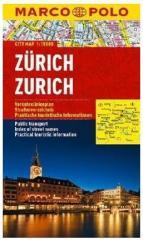 Plan Miasta Marco Polo. Zurich