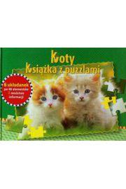 Koty Książka z puzzlami