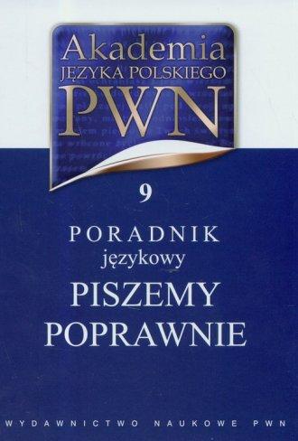 Akademia Języka Polskiego PWN Tom 9