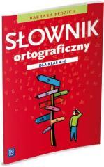 Słownik ortograficzny dla klas 4-6 w.2012 WSiP
