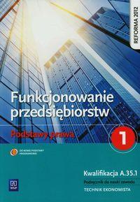 Funkcjonowanie przedsiębiorstw 1 Podst. prawa NPP
