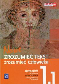 J.polski LO Nowe zrozumieć tekst 1/1 w.2015 WSiP