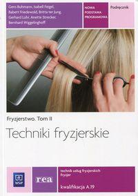 Fryzjerstwo T.II Techniki fryzjerskie REA - WSiP