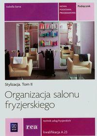 Organizacja salonu fryzjer. Kwal. A.23 REA-WSiP