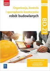 Organizacja,kontr. i sporz. kosztorysów.BD.21.cz.2
