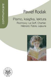 Pismo książka lektura
