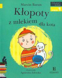 Czytam sobie - Kłopoty z mlekiem dla kota