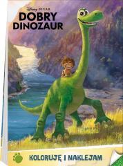 Dobry Dinozaur. Koloruję i naklejam