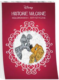 Historie miłosne. Kolorowanki artystyczne