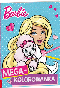 Megakolorowanka. Barbie