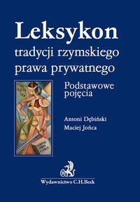 Leksykon tradycji rzymskiego prawa prywatnego