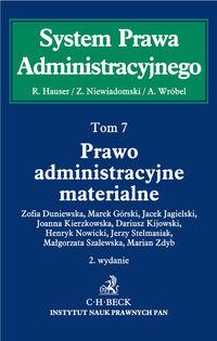 System Prawa Administracyjnego T.7 Prawo...
