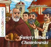 Do kolorowania - Święty Albert Chmielowski