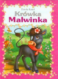 Seria futrzana - Krówka Malwinka oprawa broszurowa