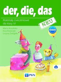 Der, Die, Das Neu 6 AB wyd.2017 PWN