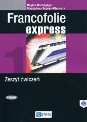 Francofolie express 1 Zeszyt ćwiczeń PWN