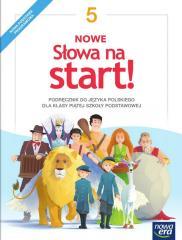 J.Polski SP  5 Nowe Słowa na start! Podr. NE