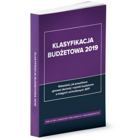 Klasyfikacja budżetowa 2019