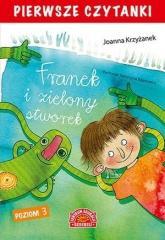 Pierwsze czytanki. Franek i zielony stworek cz.3