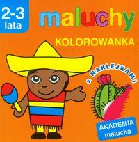 Akademia Malucha. Kolorowanka z naklejkami