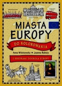 Miasta Europy do kolorowania
