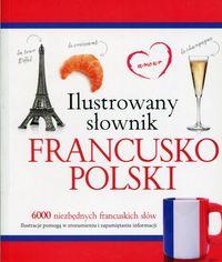 Ilustrowany słownik francusko-polski (różowy)