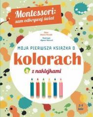 Montessori: Moja pierwsza książka o kolorach