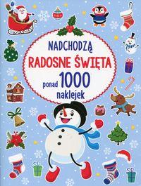 Nadchodzą radosne Święta ponad 1000 naklejek